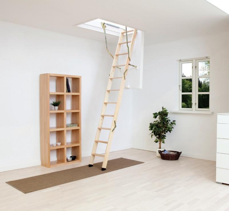 Dolle půdní schody Click Fix 76 110x60 cm