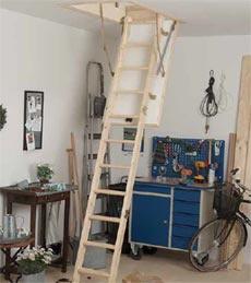 Dolle půdní schody Kompakt 36 120x60 cm