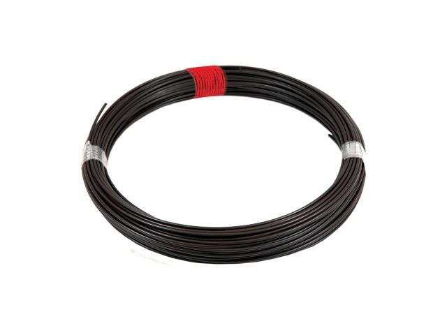 Pilecký Napínací drát poplastovaný Zn+PVC hnědý délka 52 m