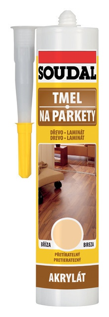 Soudal Tmel na parkety 300 ml - teak