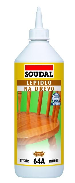 Soudal Lepidlo na dřevo 64A rychleschnoucí - 250g