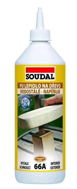 Soudal PU lepidlo na dřevo 66A 250g