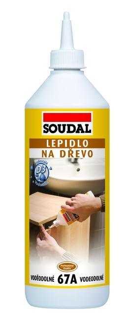 Soudal Lepidlo na dřevo 67A vodostálé - 250g