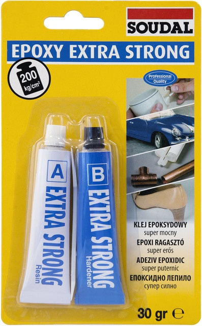 Soudal Epoxy extra strong lepidlo 2x15ml