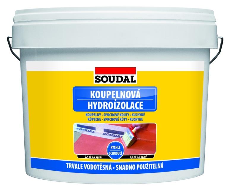 Soudal koupelnová hydroizolace - 5kg