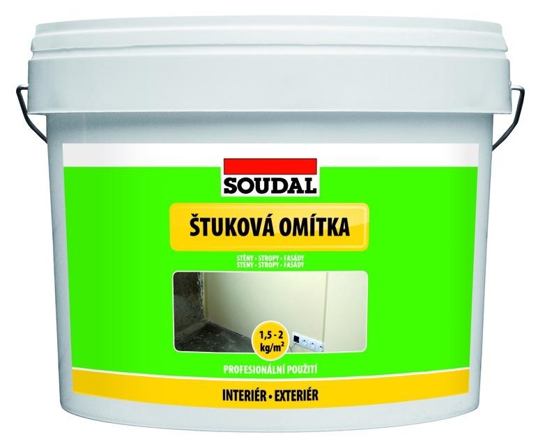 Soudal Štuková omítka bílá 8kg