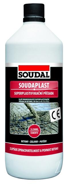 Soudal Soudaplast super-plastifikační přísada 1l