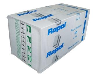 Rapol Fasádní polystyren EPS 100 F tl. 80 mm