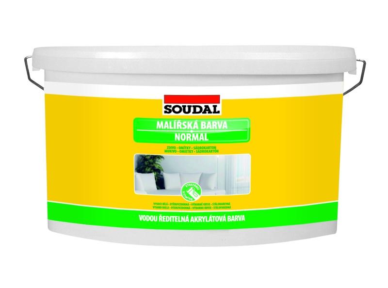 Soudal vnitřní malířská barva Normal 1,5 kg bílá