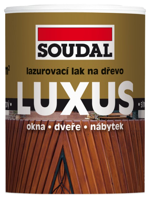 Soudal Luxus lazura transparent 0,75l