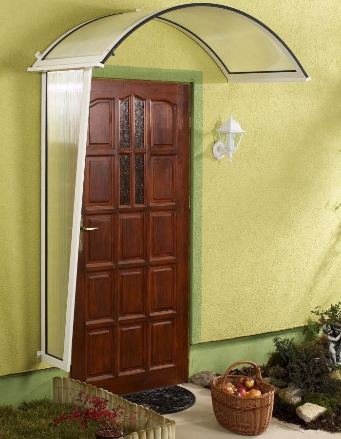 GUTTA Boční stěna Rondo hnědá - 1,8x0,53x0,3m