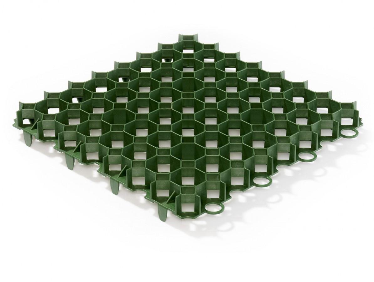 Gutta zatravňovací dlažba Guttagarden Original 50x50x6,2 cm zelená