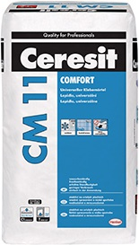 Lepidlo Ceresit CM 11 Comfort na obklady a dlažbu 5 kg
