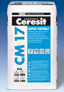 Flexibilní lepidlo Ceresit CM 17 Super Flexible 5 kg
