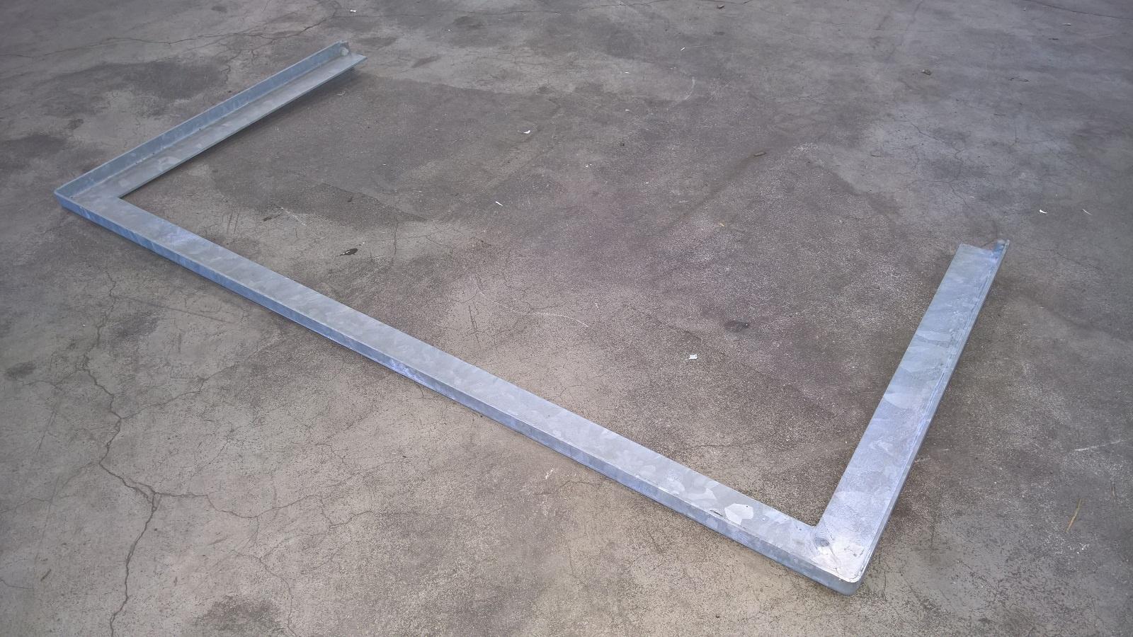 MEA zesilovací rám pro sklepní světlík MULTINORM 100x40 cm