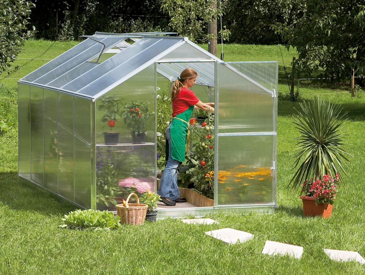 Gutta zahradní skleník Gardentec F2 230x154 cm