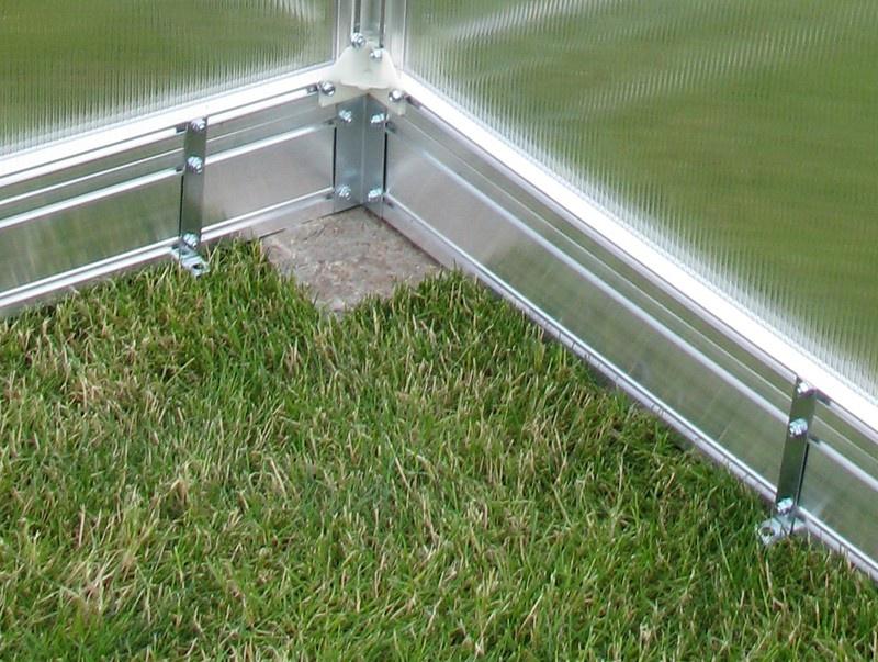 Gutta základna pro skleník Gardentec F2 230x154 cm