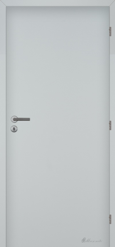 Masonite protipožární dveře laminované plné 70 cm bílé