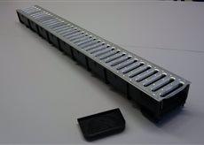 MEA Water MEA odvodňovací žlab ECO-LINE s ocelovým roštem