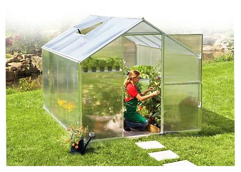 Gutta zahradní skleník Gardentec ALU 6 mm F3 230x228 cm