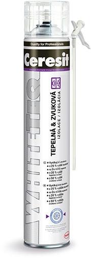 Montážní pěna Ceresit WhiteTeq trubičková 750 ml