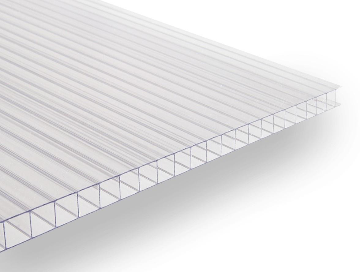 Polykarbonátová deska Guttagliss DUAL BOX 8 mm čirá 2,00x2,10 m