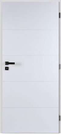 Masonite Protipožární dveře QUATRO hladké bílé 60 cm