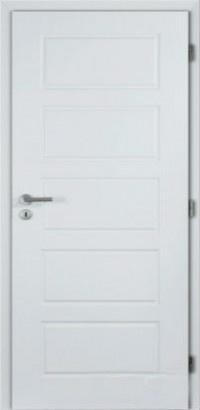 Masonite Protipožární dveře OREGON hladké bílé 60 cm