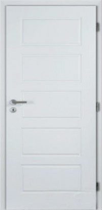 Masonite interiérové dveře OREGON hladké bílé 60 cm, voština