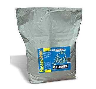Hassan jádrová sanační omítka 25 kg