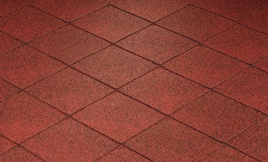 Katepal střešní asfaltový šindel FOXY červená