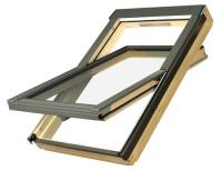 Fakro střešní okno FTS U2 114x140 cm dřevěné