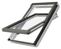 Fakro střešní okno FTU-V U3 78x98 cm dřevěné