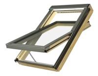 Fakro střešní okno FTP-V U3 Z- Wave elektro 05 78x98 cm dřevěné