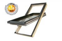 Fakro střešní okno FTT U8 Thermo 04 66x118 cm dřevěné
