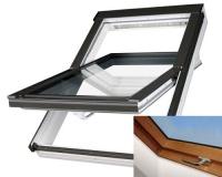 Fakro střešní okno PTP-V/GO U3 zlatý dub 03 66x98 cm plastové