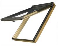 Fakro střešní okno FPP-V U3 preSelect 03 66x98 cm dřevěné