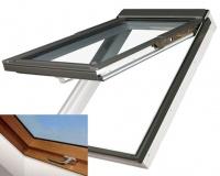 Fakro střešní okno PPP-V/GO U3 zlatý dub 114x118 cm plastové