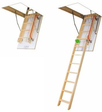 Půdní schody Fakro LDK 280 70x120 cm výsuvné