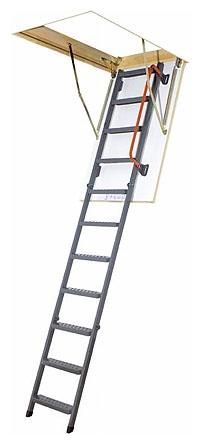 FAKRO půdní skládací schody LMK 280 60x120 cm zateplené třídílné