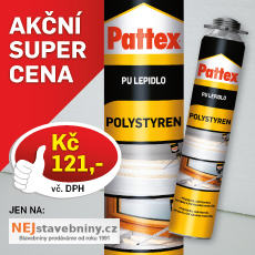 Využijte jedinečné nabídky na lepidlo na polystyren Pattex