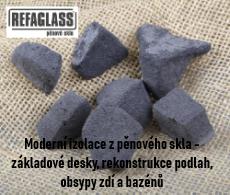 Pěnové sklo Refaglass